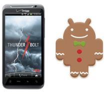 HTC ThunderBolt Android 2.3 Update Suspended New Update Soon