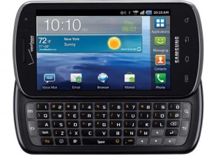 Samsung Stratosphere Hits Verizon Stratosphere 10/13 with 4G LTE, Biz & QWERTY