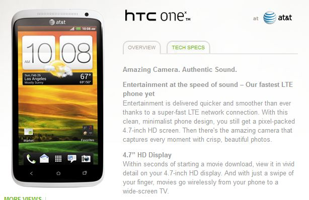 HTC One X AT&T ICS Review of News | WIRELESS AND MOBILE NEWS