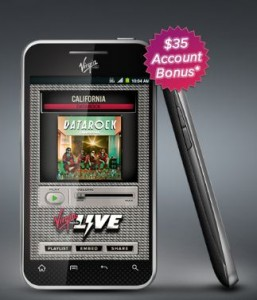 Virgin LG Optimus Elite $149   Android & NFC Cheap with 2.5 GB Data