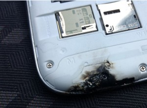 Samsung Galaxy S3 Explodes onto Scene  Fireworks Burning Desires