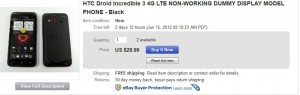 Another Sign that Droid Incredible 4G LTE Release Date Coming Soon
