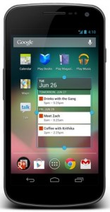 Samsung Galaxy Nexus Update to Android 4.1 Jelly Bean Out