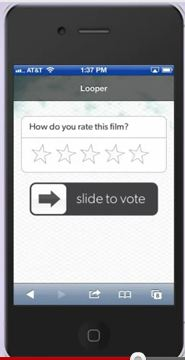 Kaazing Instant Results for Movie Surveys in Theatre, Mobile & Web