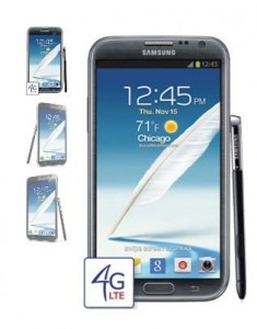 Samsung Galaxy Note 2 (II) Offically Noted for AT&T Release Date