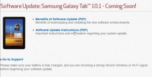 Samsung Galaxy Tab 10.1 Update 2 Android 4.0.4 Ice Cream Sandwich Out