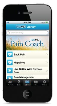 Chronic Pain Relief for iPhone   Theres an App for That