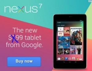 Next Nexus 7 to Beat Kindle Fire Sales @ $99 4 Black Friday?