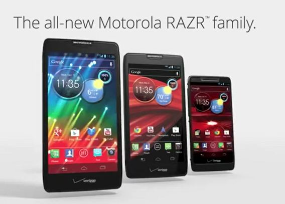 All New Droid RAZR Family