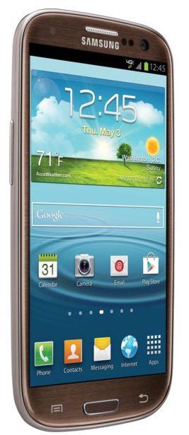 Samsung Galaxy S III Amber Brown