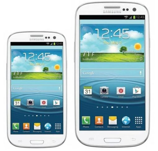 Samsung Galaxy S3 (III) mini Update vs. iPhone 5