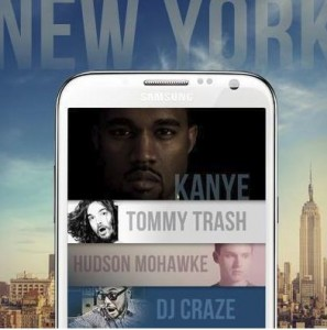 Samsung Galaxy Note II NYC
