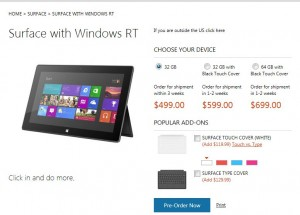 Microsoft Surface RT Tablets   Sold Out   How to Get   Commercial or Home Use?