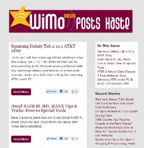 Wimo News Posts Haste
