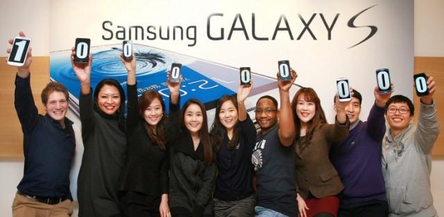 Samsung Galaxy Sales
