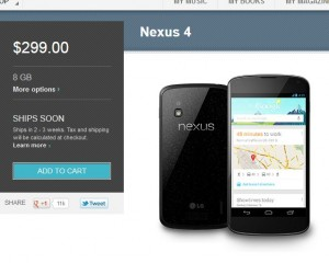 New Nexus 4 & 7 News: Deals, Cheaper, Better, Faster & Slow Shipping?