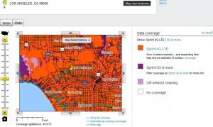 Sprint LTE Map